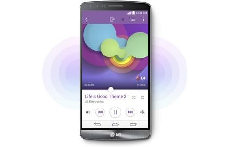 lg g3 uno de los mejores moviles del 2014 - altavoz amplificador