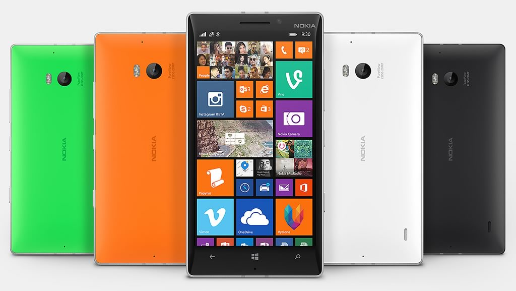 los 10 mejores celulares 2014 - nokia lumia 930