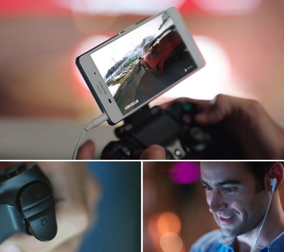 sony xperia z3 movil gran rendimiento y altas prestaciones - remote play
