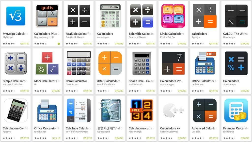 app calculadora grafica para android variedad