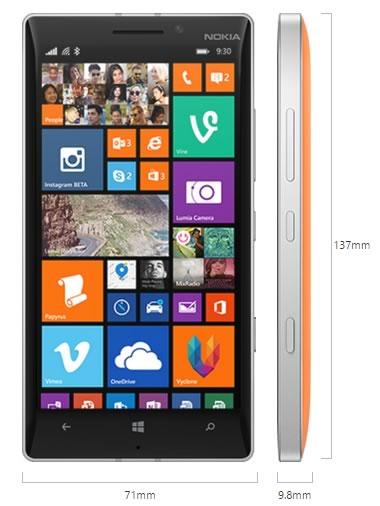 nokia lumia 930 mejor experiencia windows phone 81 dimensiones