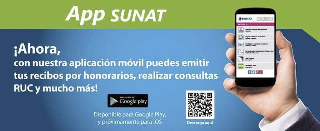 descarga app sunat para smartphone android