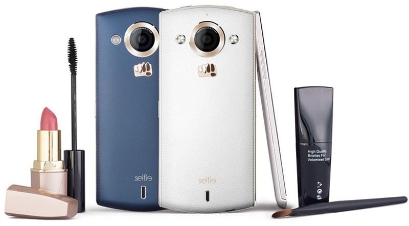 mejores celulares 2015 para hacer selfies - micromax canvas selfie