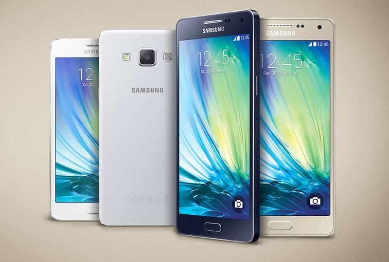 mejores celulares 2015 para hacer selfies - samsung galaxy a5
