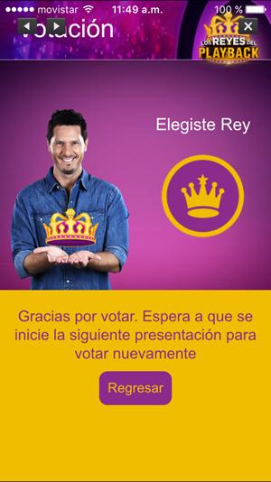 app reyes del playback confirmacion