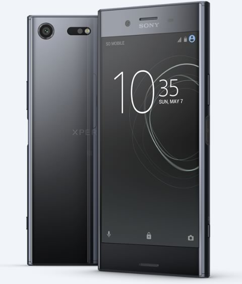 Mejores Celulares 2017: Sony Xperia XZ Premium