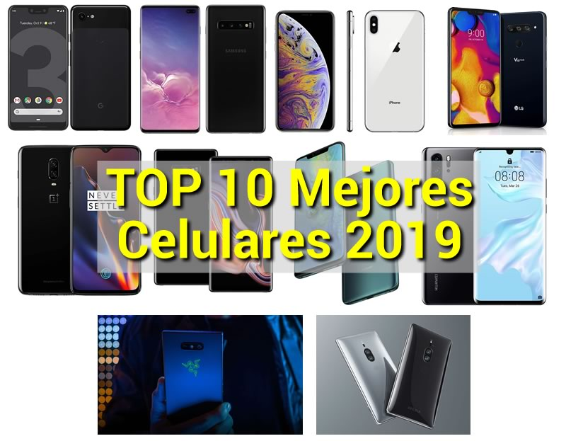 22f099d0dbf TOP 10: Mejores Celulares Gama Alta - MAYO 2019
